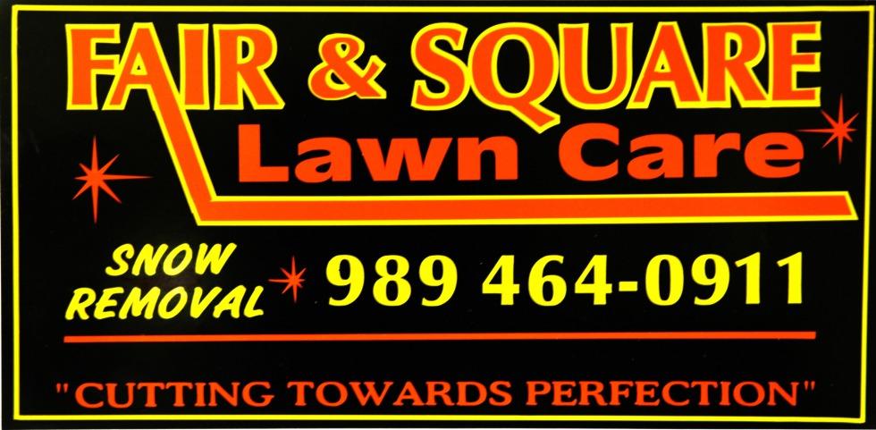 Fair & Square Lawn Care in Alpena, MI logo